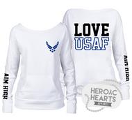 Love USAF Top
