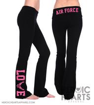 Air Force LOVE Yoga Pants