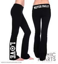 Firefighter LOVE Yoga Pants