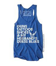 Guns Tattoos Shoes Shirt - Air Force
