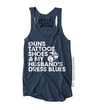 Guns Tattoos Shoes Shirt - Marine Corps