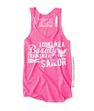 Look Like A Beauty Train Like A Sailor Shirt