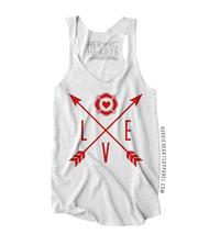 Firefighter Love Arrows Shirt