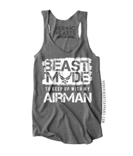 Beast Mode to Keep Up With My Airman Shirt