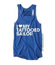 I Love My Tattooed Sailor Shirt