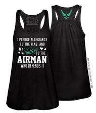 Pledge Allegiance Shirt - Air Force
