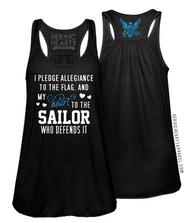 Pledge Allegiance Shirt - Navy