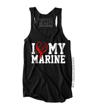 I Love My Marine Shirt