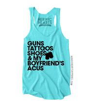 Guns Tattoos Shoes Shirt - National Guard