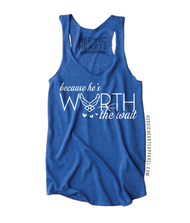 Because He's Worth the Wait Air Force Shirt