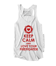Keep Calm And Love Your Firefighter Shirt