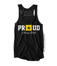 Proud Army Wife Star Top