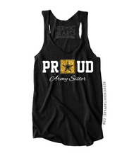 Proud Army Sister Star Top