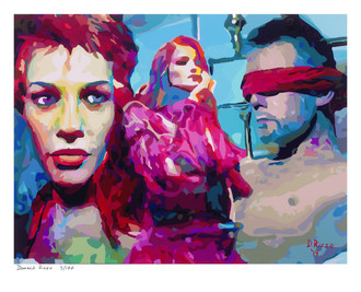 Shop for Door unlocked a limited edition print by San Francisco artist Donald Rizzo. Donald Rizzo paints kaleidoscopic visions of vibrant colors.