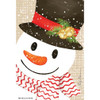 Willowbrook Fresh Scents Scented Sachet - Crafty Snowman