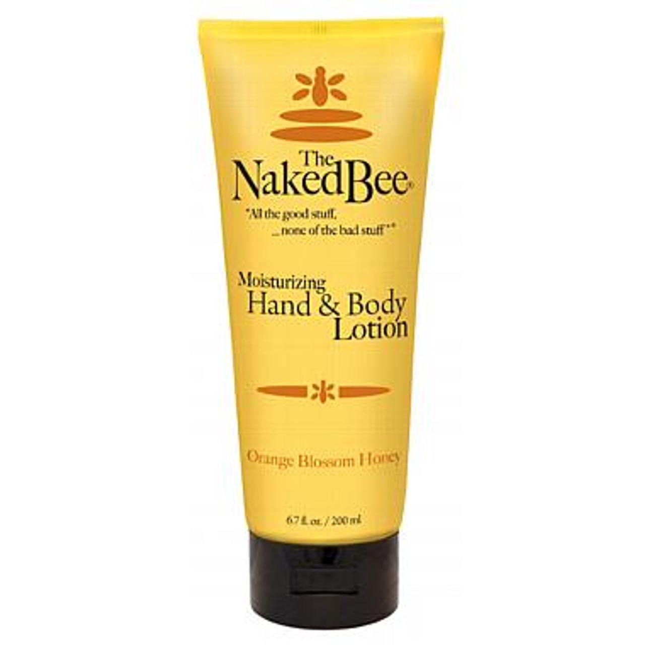 naked bee orange blossom honey