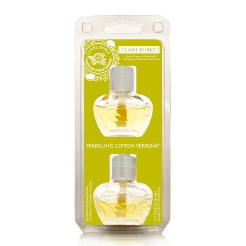 Claire Burke Electric Fragrance Warmer Refill 2016 - Sparkling Citrus Verbena
