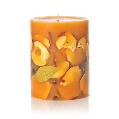 Rosy Rings Botanical Candle 6.5 Inches Tall - Spicy Apple