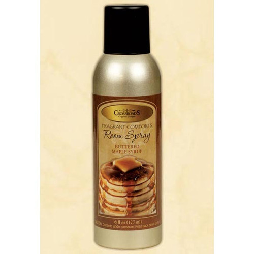 Crossroads Room Spray 6 Oz. - Buttered Maple Syrup
