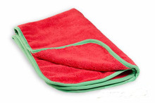 16x24 Premium Red Microfiber Towel