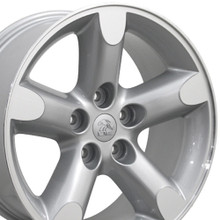 "20"" Fits Dodge - Ram 1500 Wheel - Silver Machined Face 20x9"