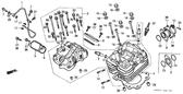 Genuine Honda ATC250ES 1987 10Mm Washer Part 16: 90410HA0000 (796096)