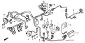 Genuine Honda VALKYRIE 1998 Spark Unit Part 3: 30410MZ0630 (1603234)