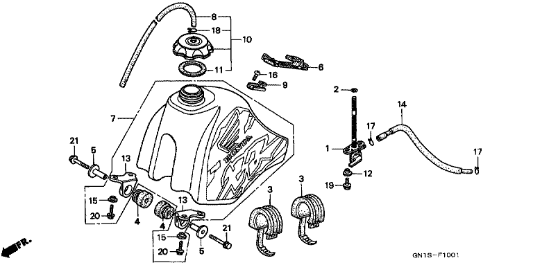 Honda Xr70 Engine Diagram