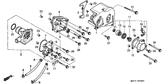 Genuine Honda VFR750R 1988 13X22x5 (Arai) Oil Seal Part 20: 91204KE8003 (174733)
