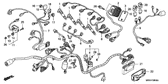Sale Genuine Honda CBR600F4 2005 Pgm-Fi Unit Part 21: 38770MBWA12 (680443)