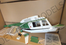 FUNKEY Scale Fuselage Jet Ranger .60 (700) size GREEN Color