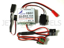 8A External UBEC w/ 5.1V Step-Down Voltage Regulator
