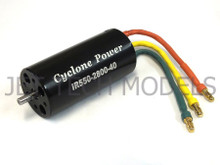 Cyclone Power IR550-2800-40 Inrunner Motor with motor Shaft Dia 4.0mm  (Brushless Motor)