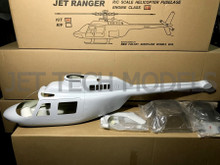 FUNKEY Scale Fuselage JET RANGER .30 / 550 size KIT VERSION