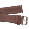 Brown Hirsch Liberty Vintage Leather Watch Strap - Image 4