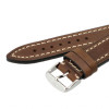 Brown Hirsch Liberty Vintage Leather Watch Strap - Image 2