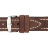 Brown Hirsch Liberty Vintage Leather Watch Strap - Image 3
