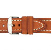 Golden Brown Hirsch Liberty Vintage Leather Watch Strap - Image 3