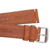 Golden Brown Hirsch Liberty Vintage Leather Watch Strap - Image 4