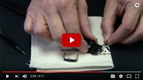 How To Change a Watch Buckle (Video)