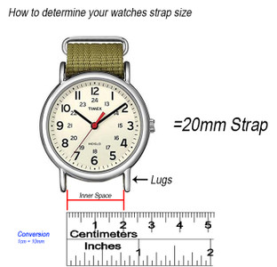 3 Easy Steps to Find Your Strap Size.