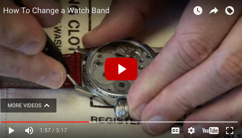 How To Change a Watch Band (Video)