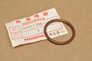 NOS Honda CB350 CB360 CJ360 CL350 CL360 CX500 GL1000 SL350 Exhaust Gasket 18291-286-000