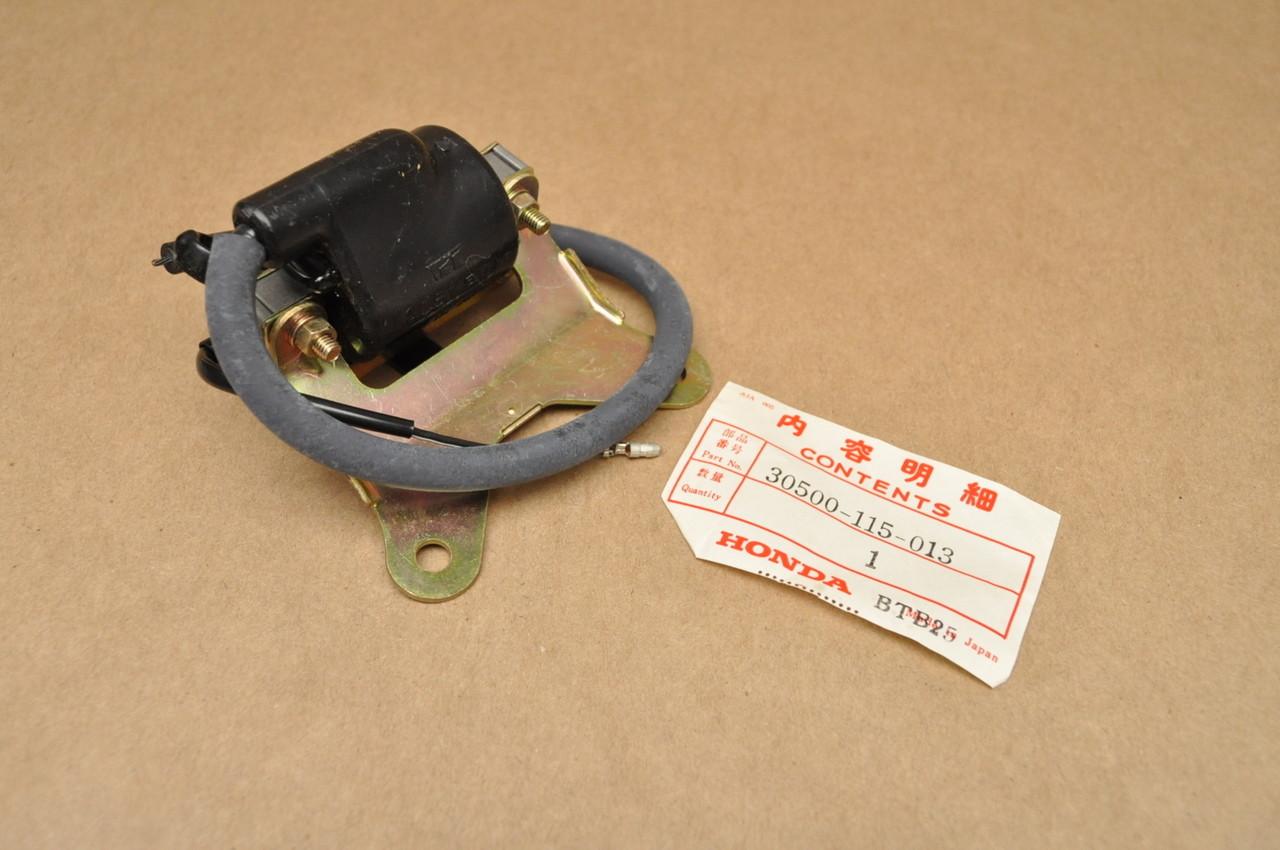 nos honda xr75 k0 1976 ignition coil spark plug wire. Black Bedroom Furniture Sets. Home Design Ideas