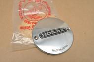 NOS Honda XR75 K0-1976 Stator Magneto Points Inspection Cover 11431-116-000