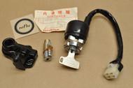 NOS Honda CB200 CB350 F CB360 CB500 CB550 CB750 CL350 Key Ignition Switch & Lock Set 35010-374-671