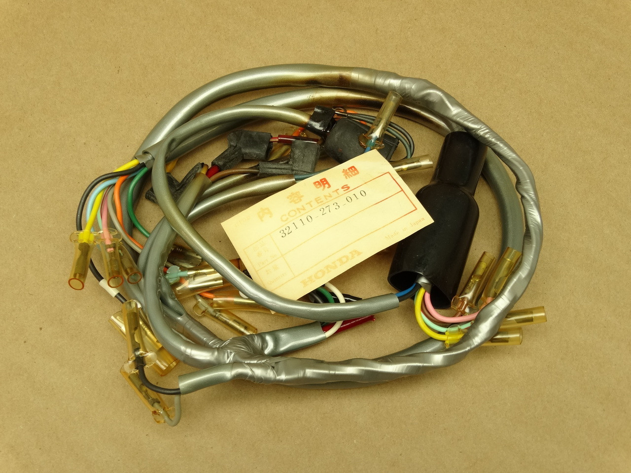 Nos Honda Cl72 Cl77 Wire Wiring Harness B 32110 273 010 Parts Now Image 1