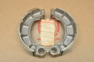 NOS Honda CB650 SC CX500 CX650 GL500 GL650 VF500 VT700 Rear Brake Shoe Pad Set Pair 43120-415-000