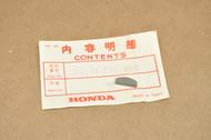 NOS Honda CA95 CB92 CB450 4mm Crank Shaft Woodruff Key 90741-202-000