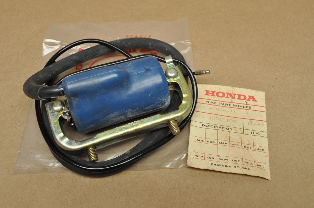 nos honda ct70 k0 k4 ct70h ignition coil spark plug wire. Black Bedroom Furniture Sets. Home Design Ideas